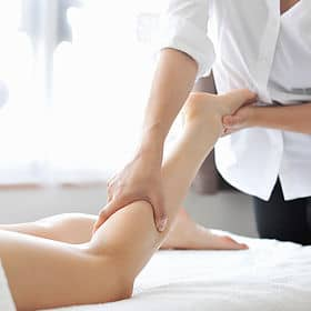 Spa Services: Massage, Foot Treatment, Waxing, Relax, Renew, Re:Fresh